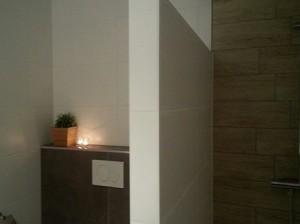 Begane grond badkamer villa 120 bij chateau cazaleres