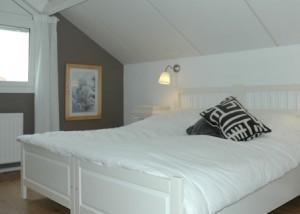 Slaapkamer op de bovenverdieping